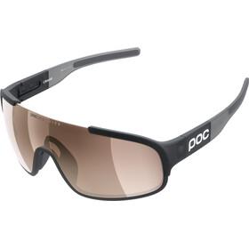 POC Crave Sunglasses uranium black translucent/grey